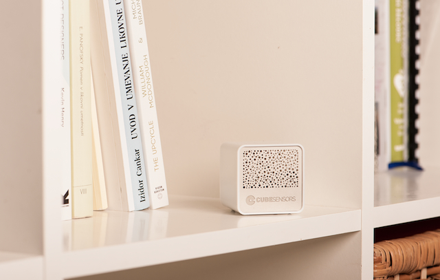 CubeSensors also measure indoor air quality