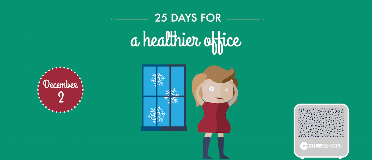 25 days for a healthier office: open windows during long meetings to avoid headaches