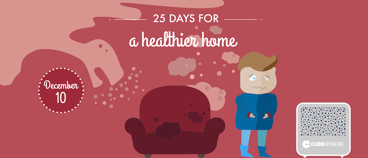 25 days for a healthier home: find out what's polluting the air you breathe