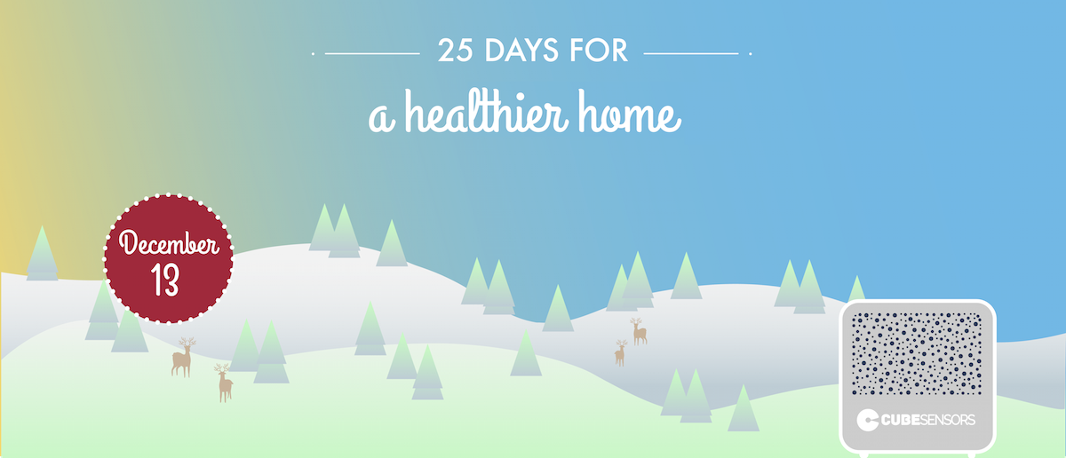 25 days for a healthier home: don't neglect the outdoors during colder days