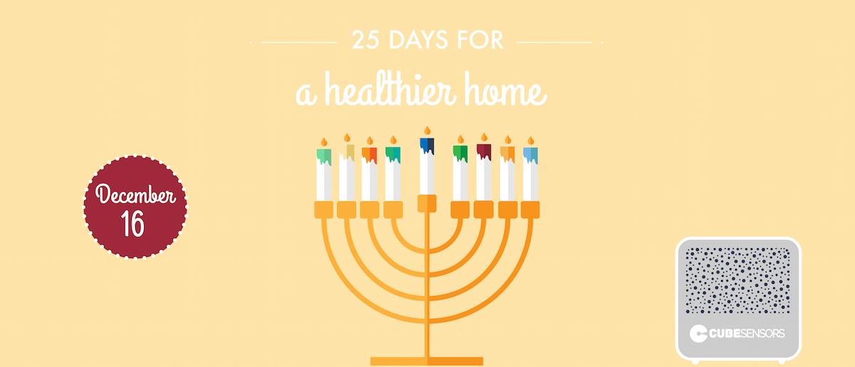 25 days for a healthier home: choose non-toxic Hanukkah candles  -creative_noise
