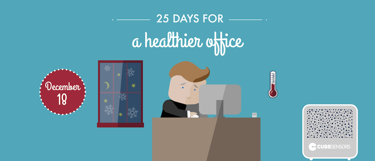 25 days for a healthier office: be more productive at the right temperature