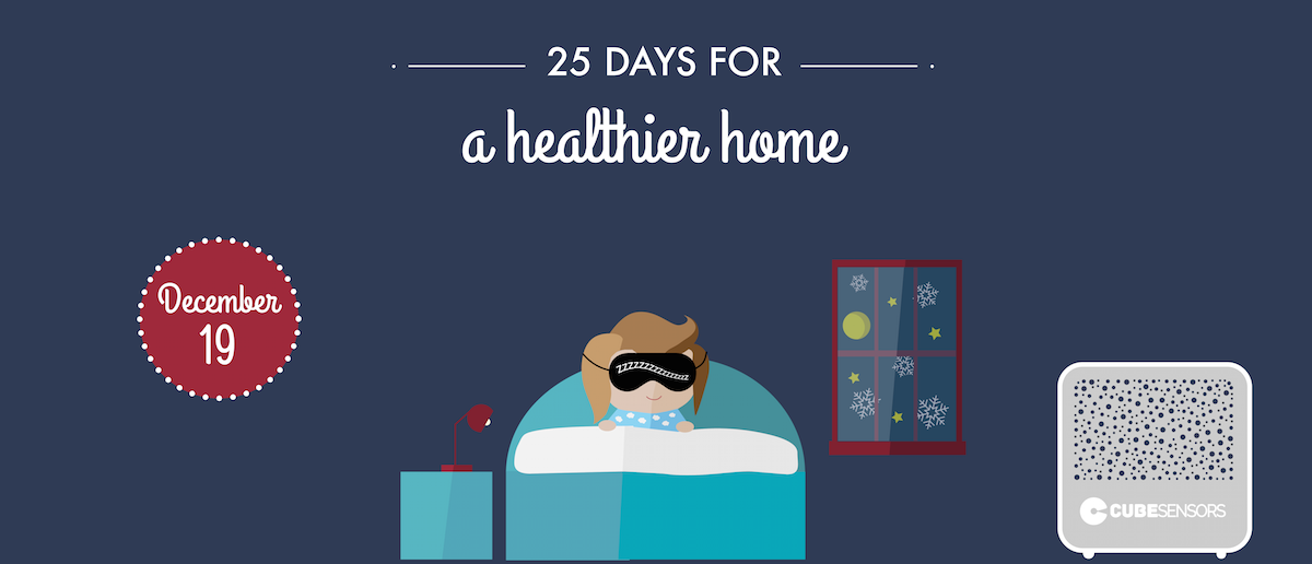 25 days for a healthier home: embrace the dark side of your bedroom for better sleep