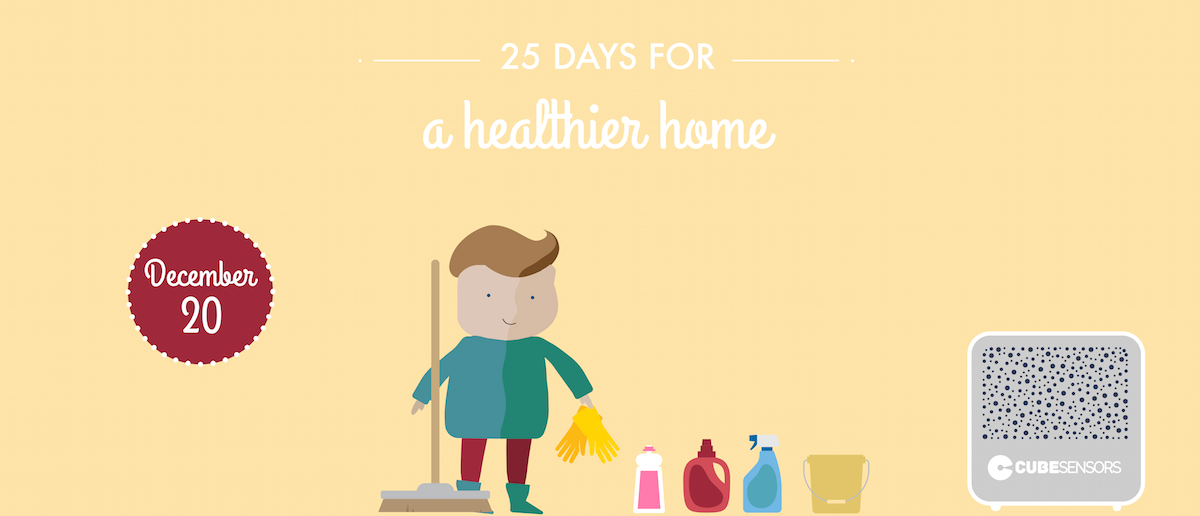 25 days for a healthier home: don't trade your air quality for a clean house