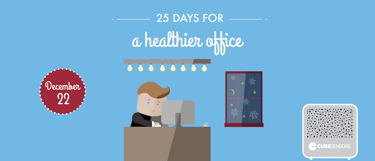 25 days for a healthier office: getting enough light during the day for better sleep