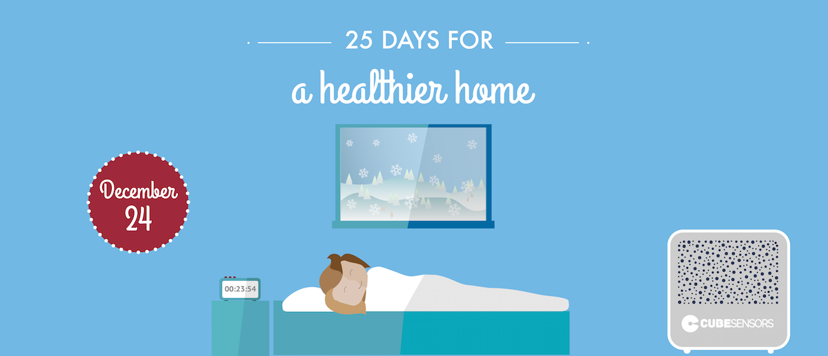 25 days for a healthier home: a short power nap can recharge you in the afternoon