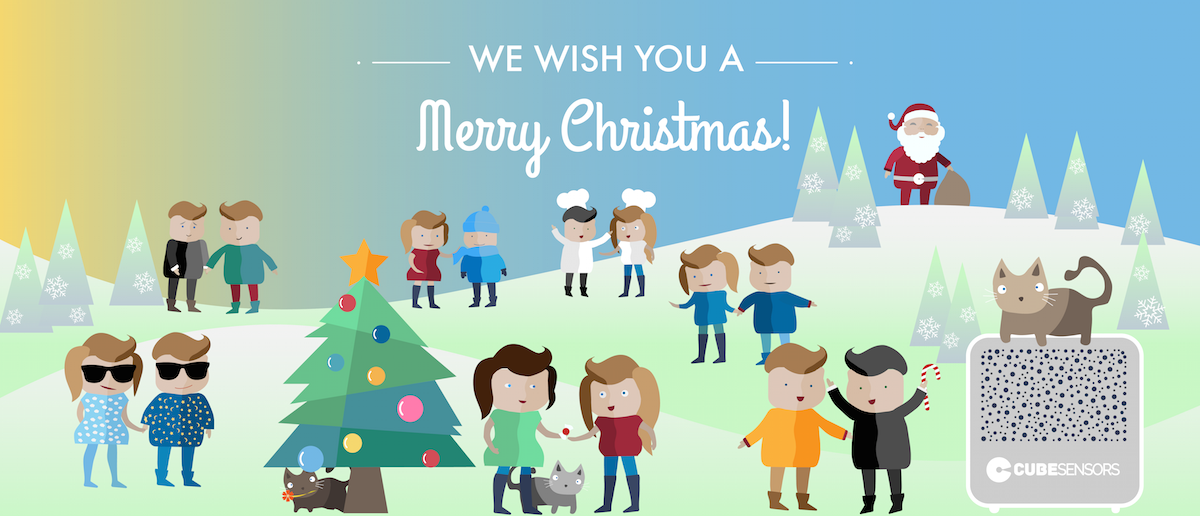 Merry Christmas from CubeSensors