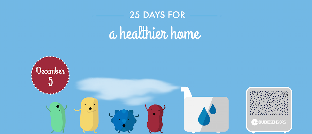 25 days for a healthier home: use humidity to fight colds and flu
