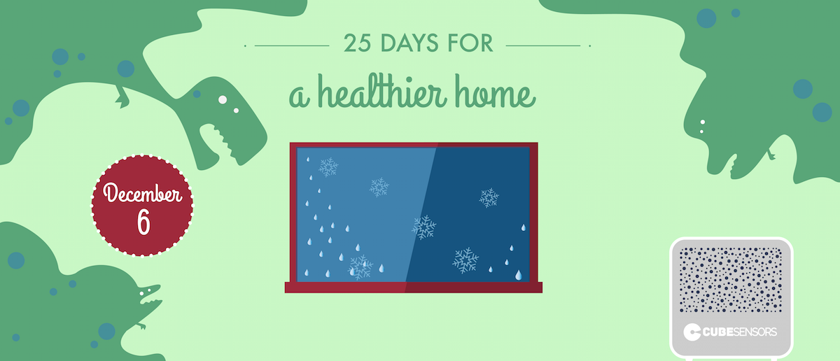 25 days for a healthier home: don't help molds grow at high humidity levels