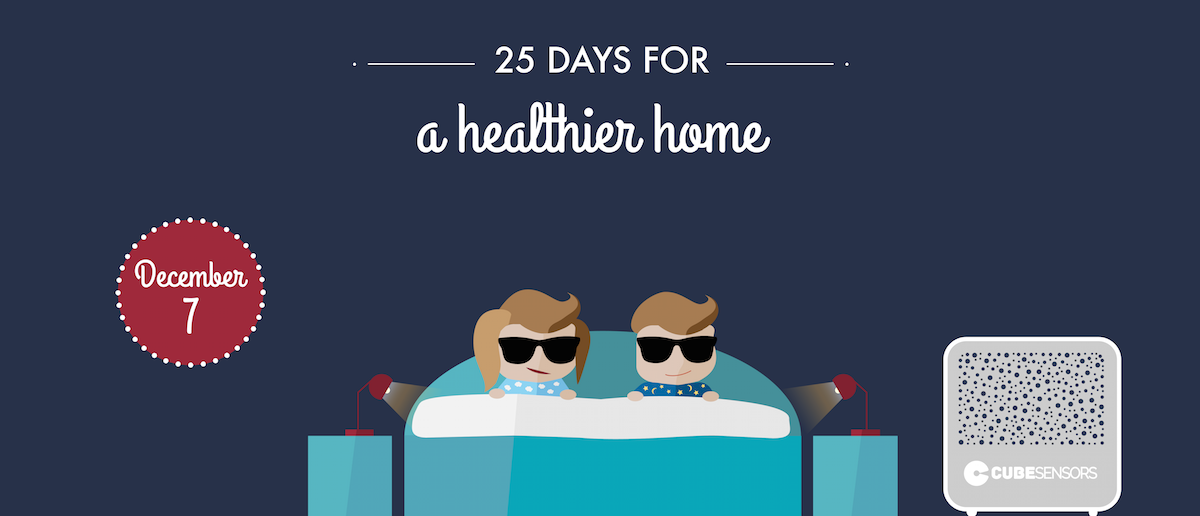 25 days for a healthier home: keep your bedroom cool
