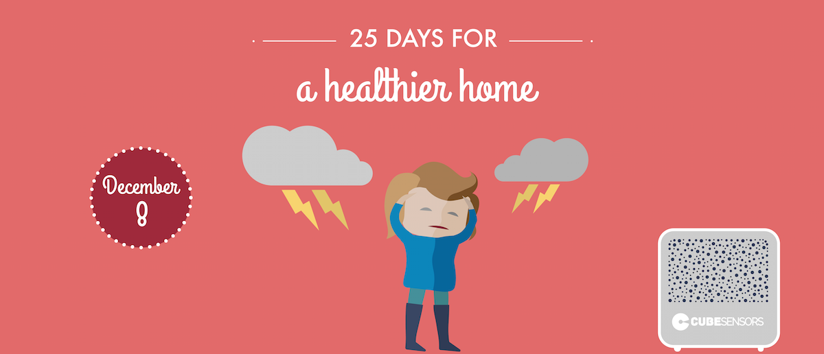 25 days for a healthier home: is your headache weather related?