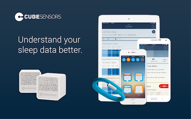 Understand your sleep data better with CubeSensors