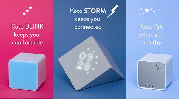 Koto smart home sensors